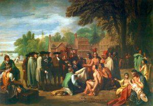Penn and Indians Tready